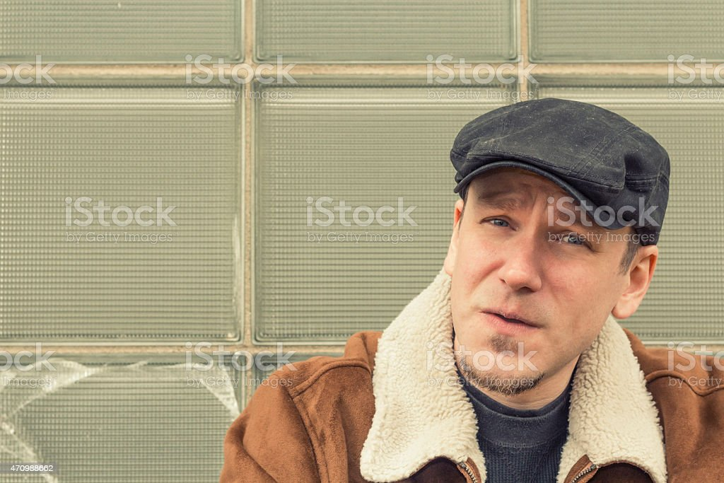 Cool Guy Relaxing stock photo