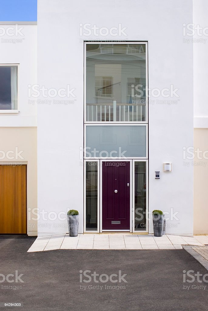Cool house royalty-free stock photo