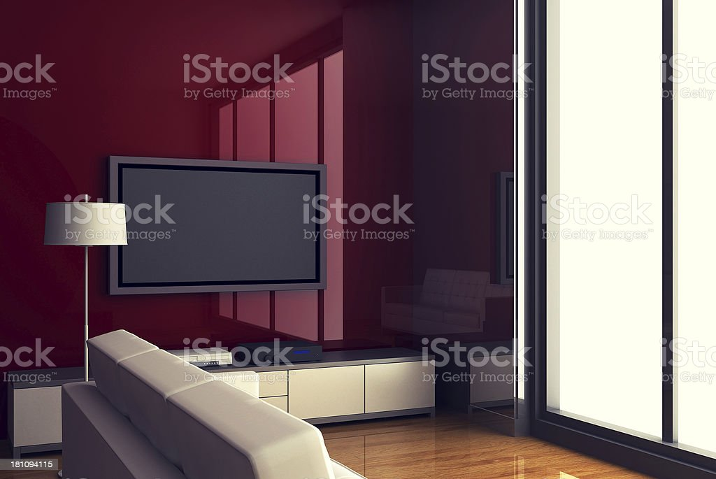 Cool Interiors royalty-free stock photo