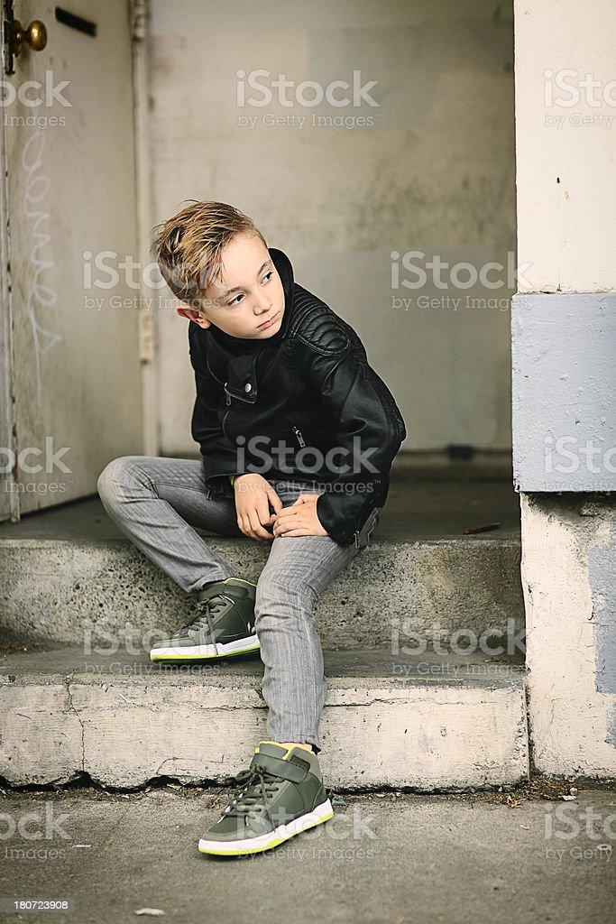 Cool Kid stock photo