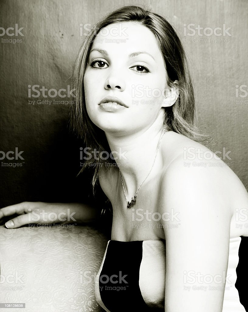Cool Lady. royalty-free stock photo