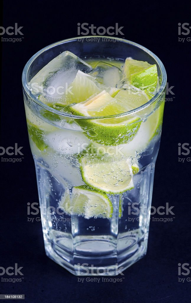 Cool lime drink royalty-free stock photo