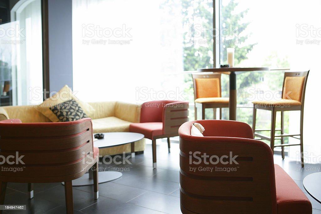 Cool lounge stock photo
