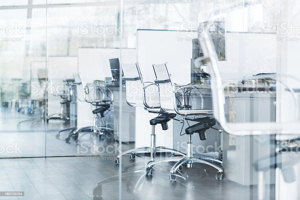 Cool Modern Office Space stock photo