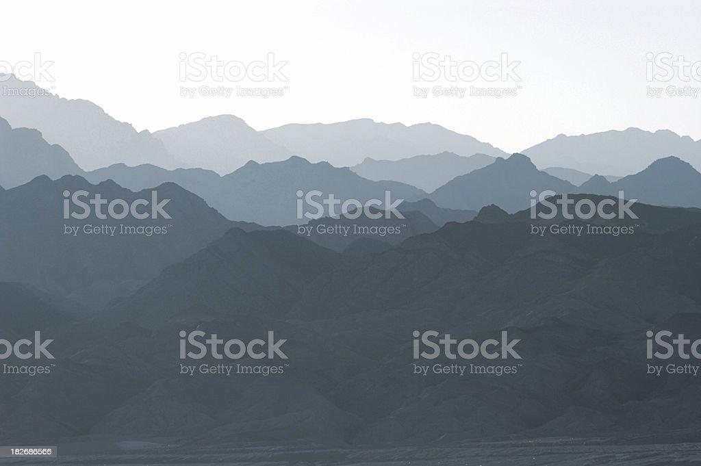 cool mountains stock photo