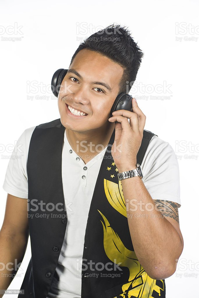 Cool music royalty-free stock photo