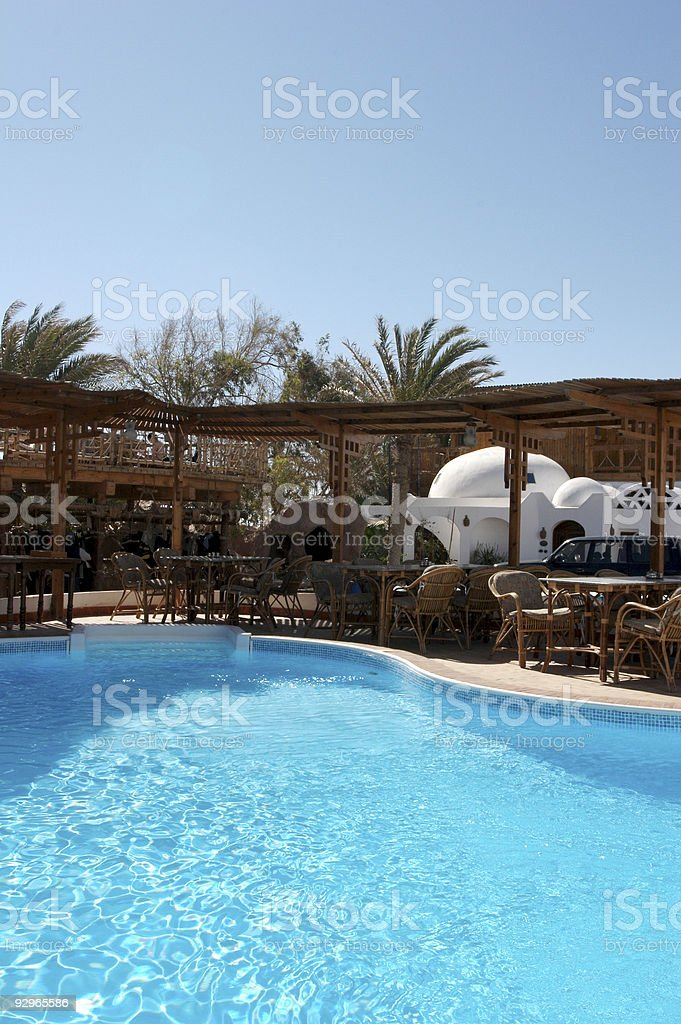 cool pool royalty-free stock photo