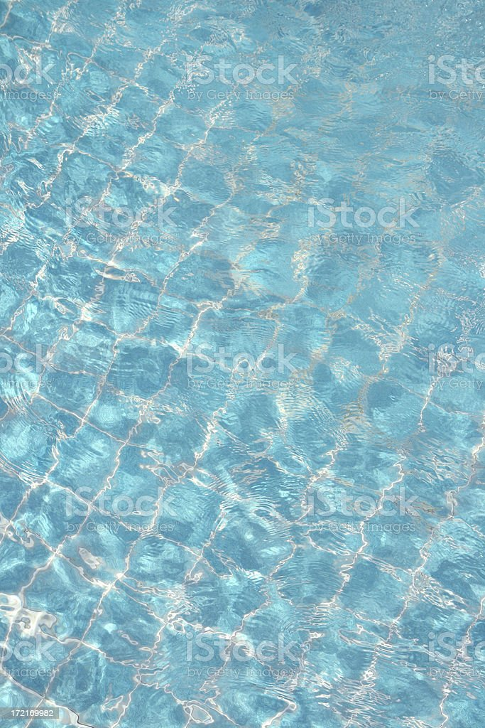 Cool Pool Water stock photo