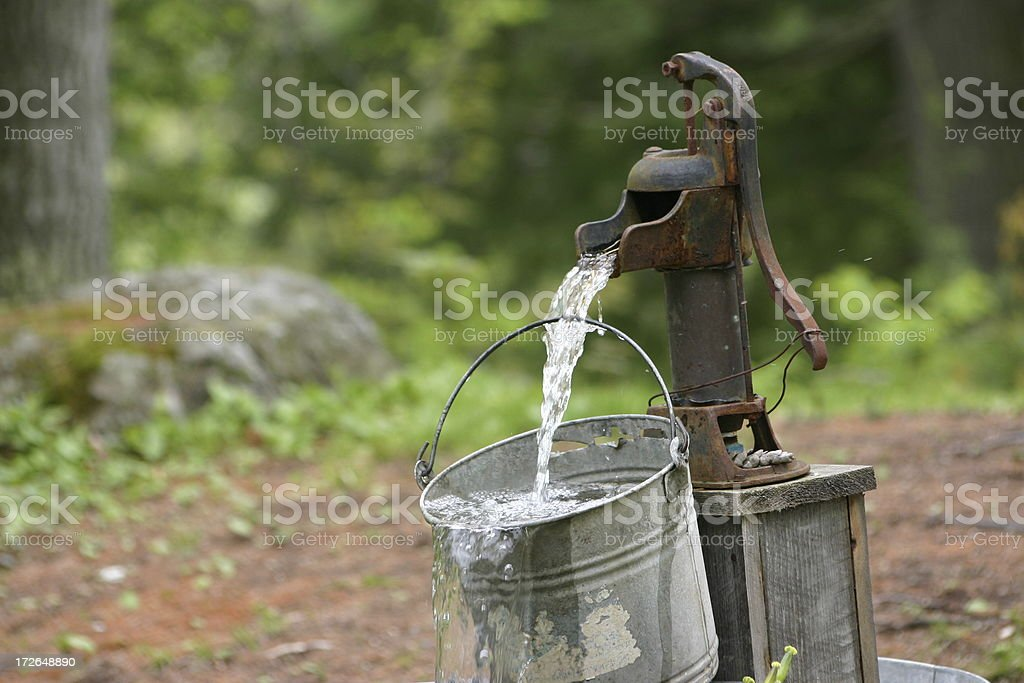 cool & refreshing stock photo