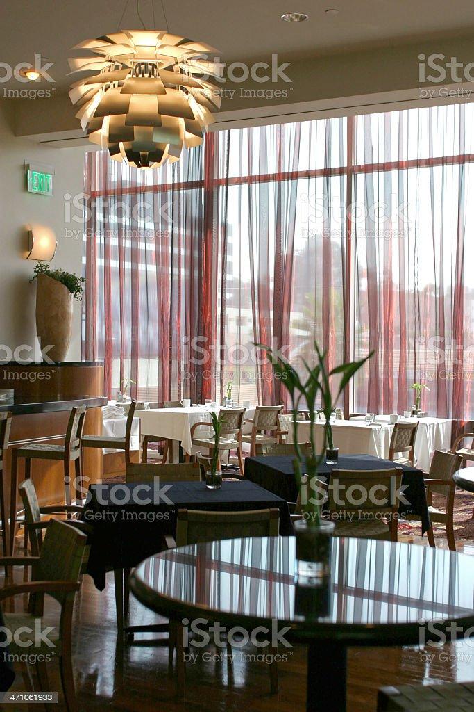 Cool Restaurant Interior royalty-free stock photo