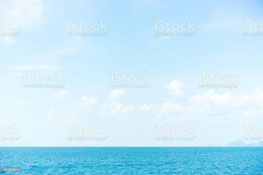 cool sea stock photo