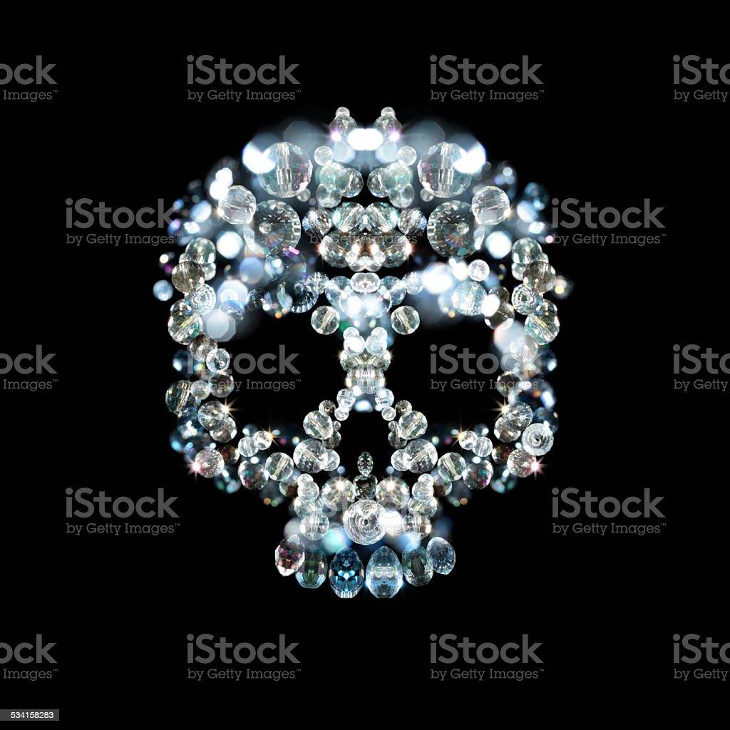 cool skull stock photo