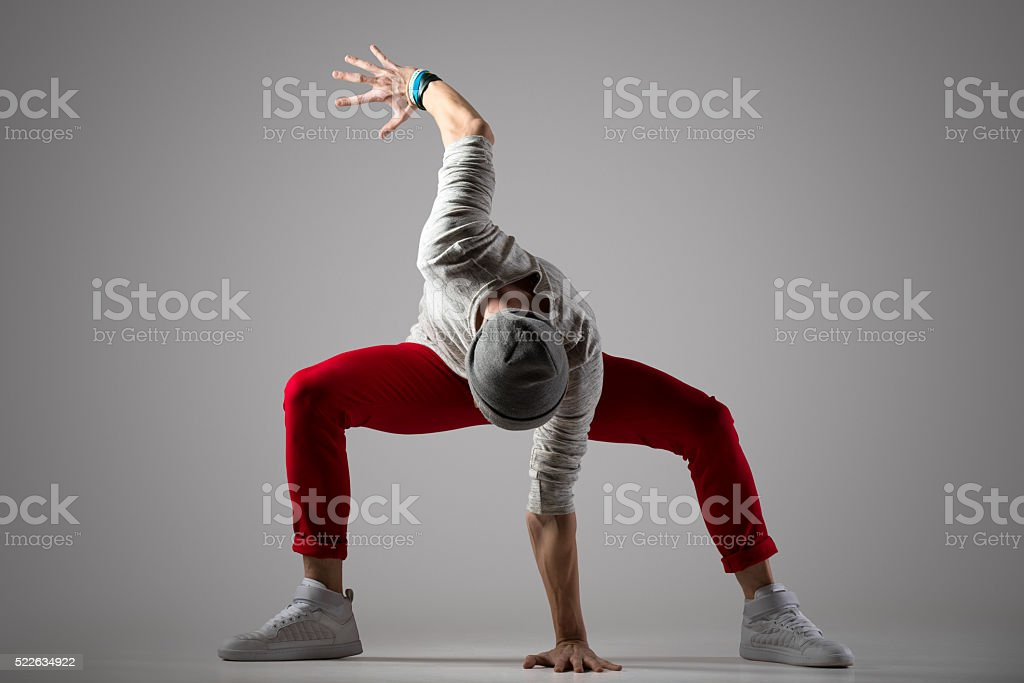 Cool street style dancer stock photo