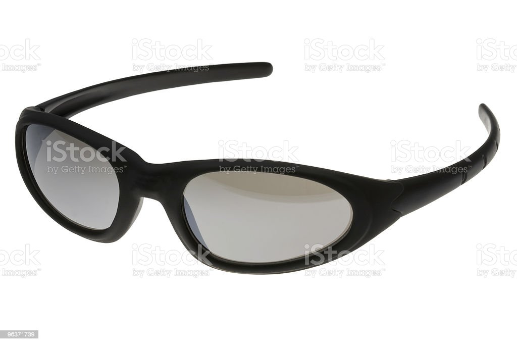 Cool Sunglasses (with clipping path) stock photo