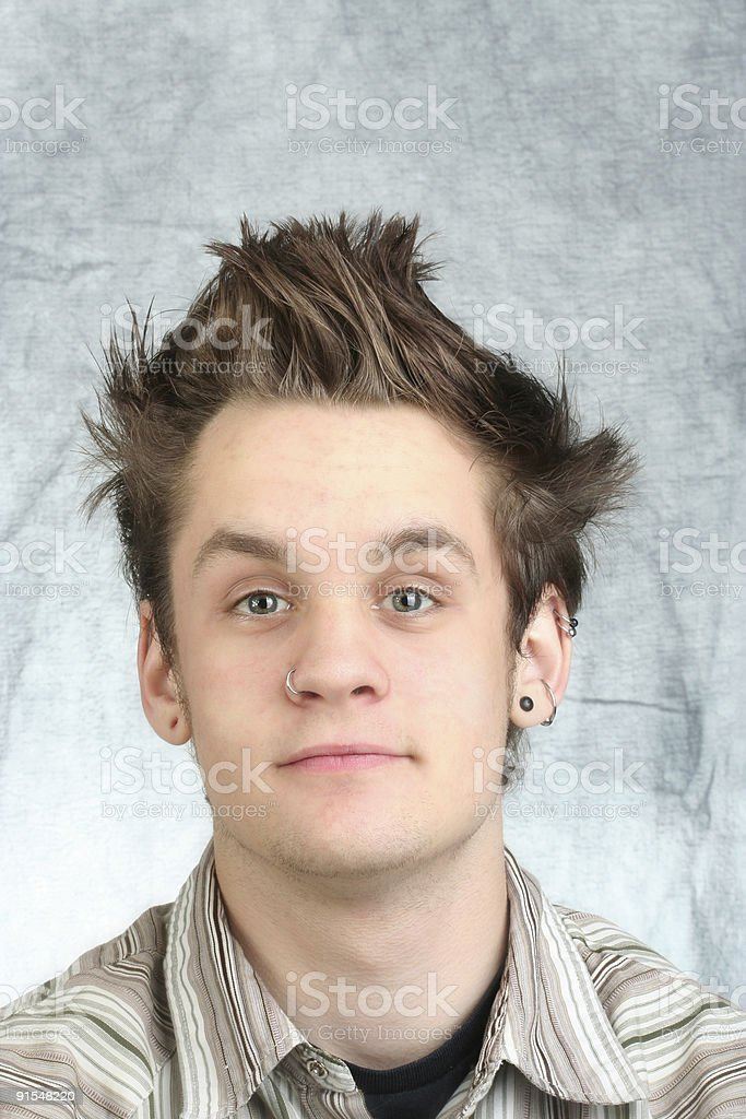 Cool Teenager royalty-free stock photo