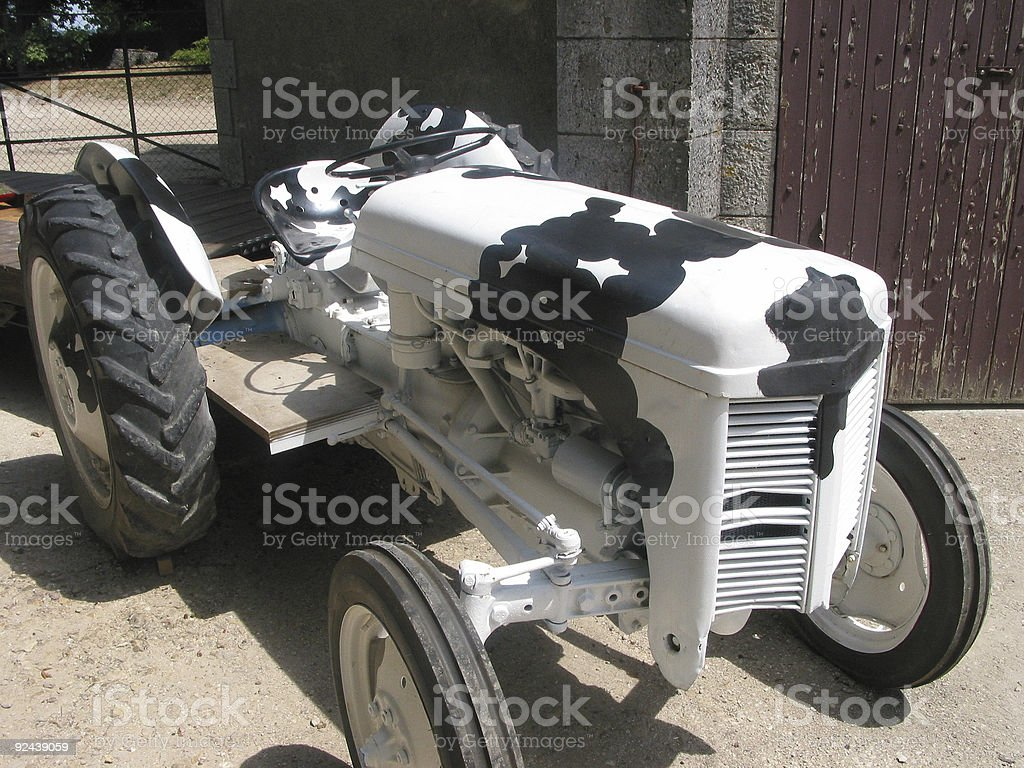 Cool tractor royalty-free stock photo