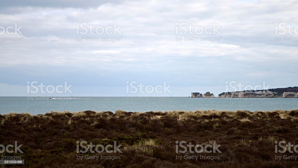 Cool Travel destinations - Studland Bay stock photo