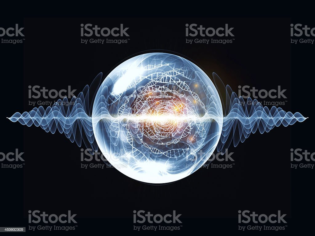 Cool Wave Particle royalty-free stock vector art