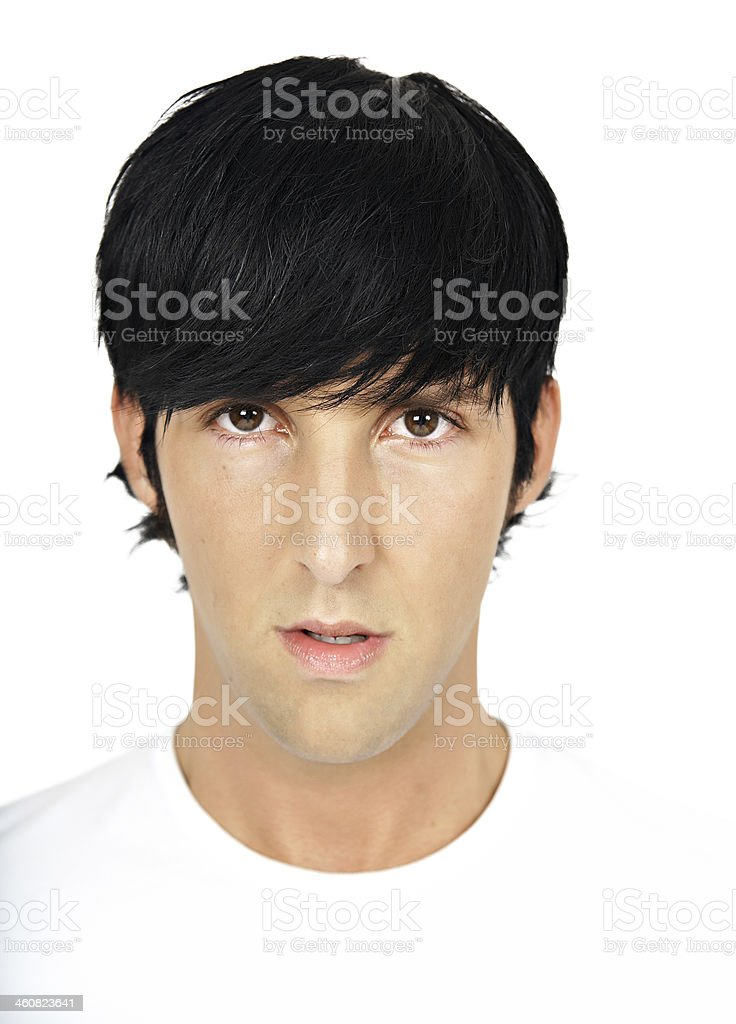 Cool Young Man royalty-free stock photo