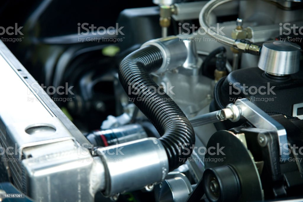 Coolant Lines. stock photo