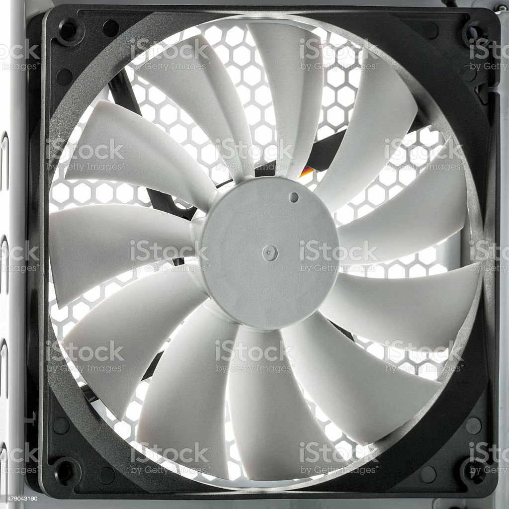 PC cooler stock photo