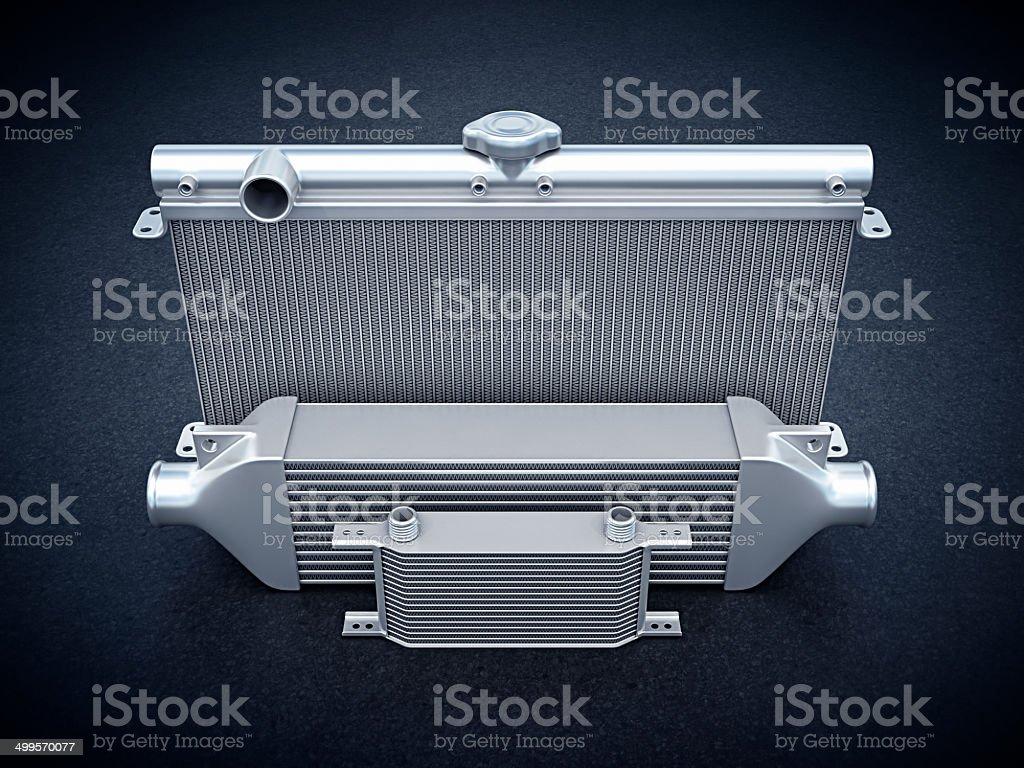 coolers stock photo