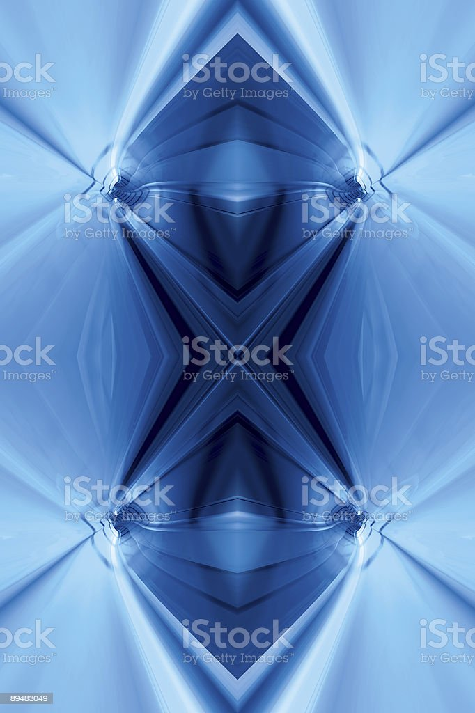 CoolFractalFour royalty-free stock vector art