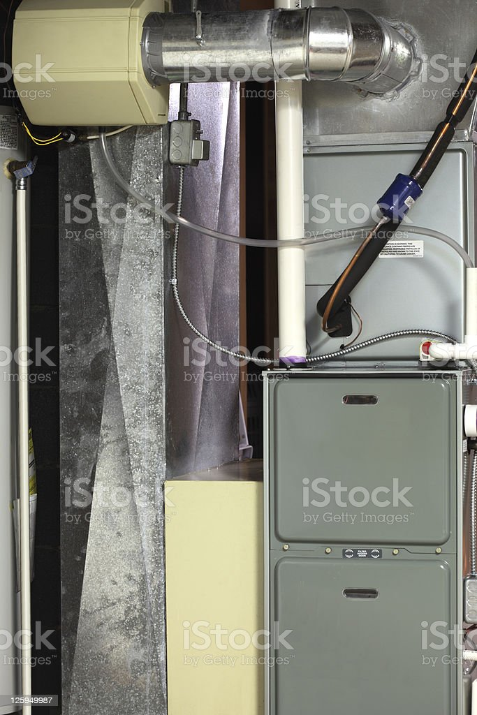 Cooling and Heating stock photo