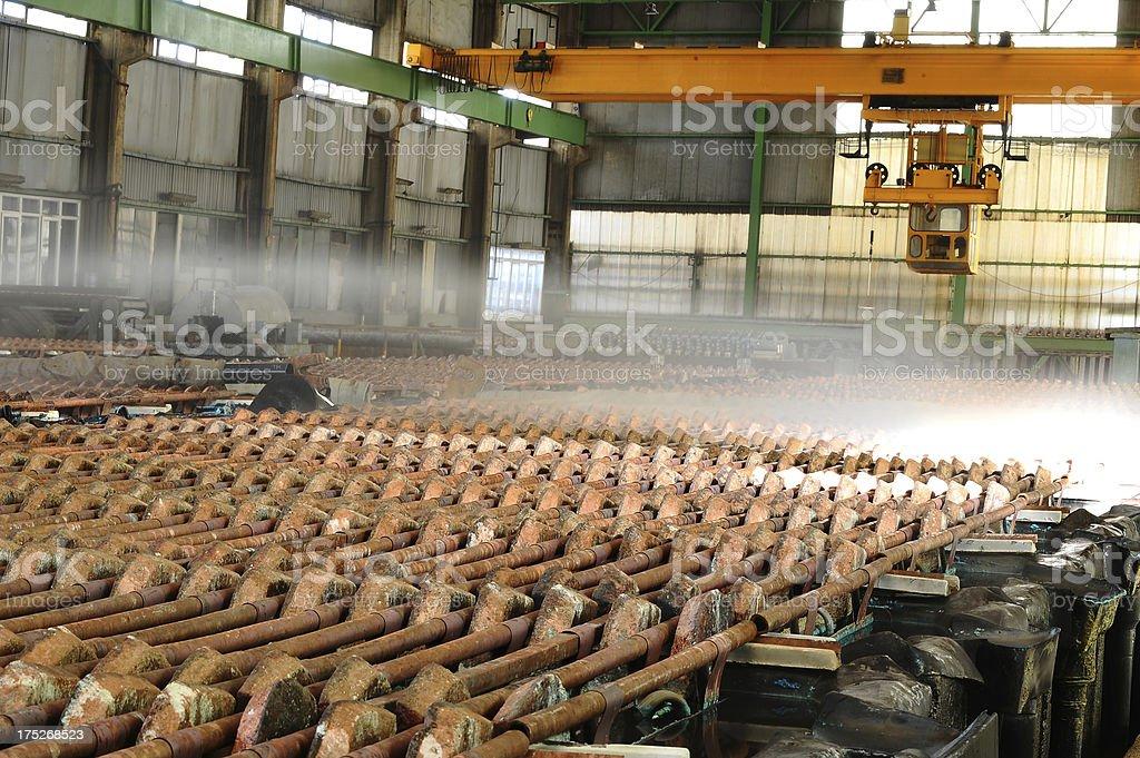 Cooling bricks royalty-free stock photo