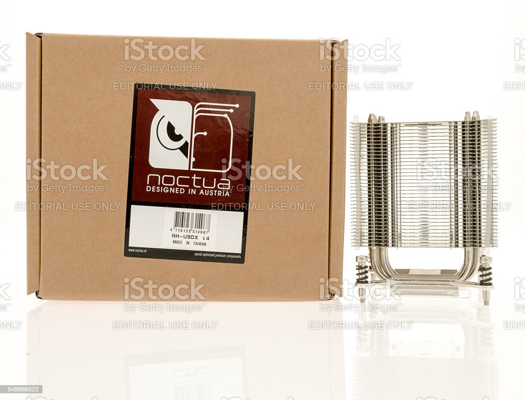 CPU cooling equipment stock photo