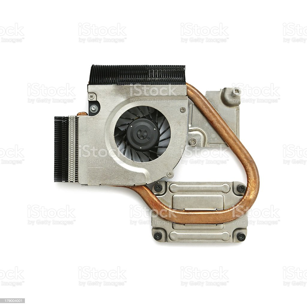 Cooling fan royalty-free stock photo