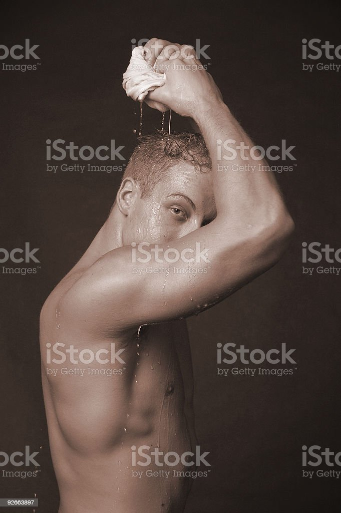 cooling off royalty-free stock photo