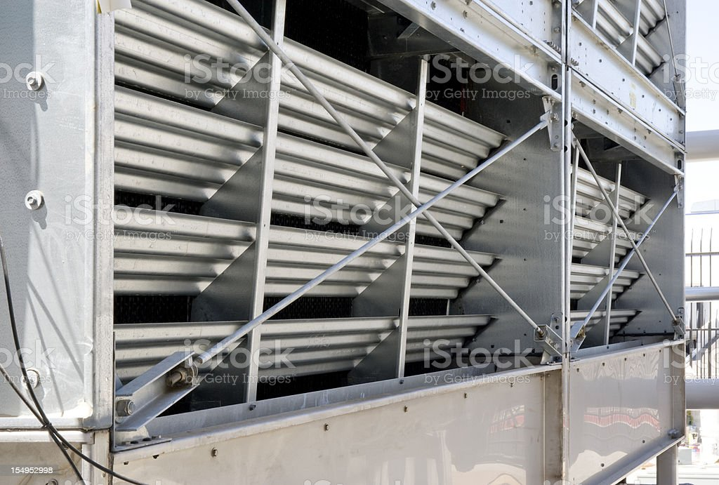 Cooling Tower Detail royalty-free stock photo