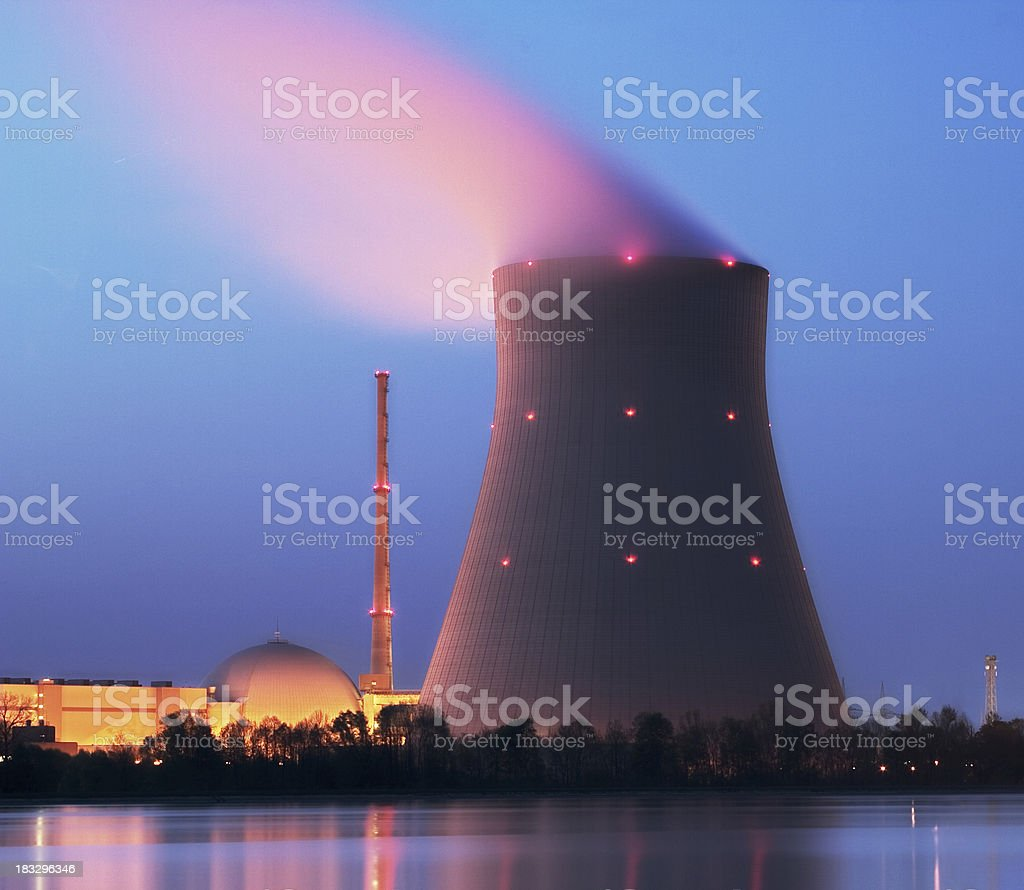 Cooling Tower royalty-free stock photo
