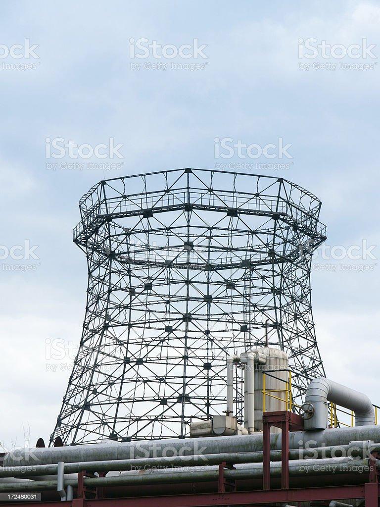 Cooling Tower Skeleton royalty-free stock photo