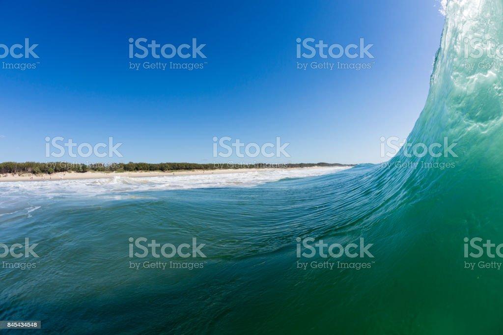 Coolum Beach Surf stock photo