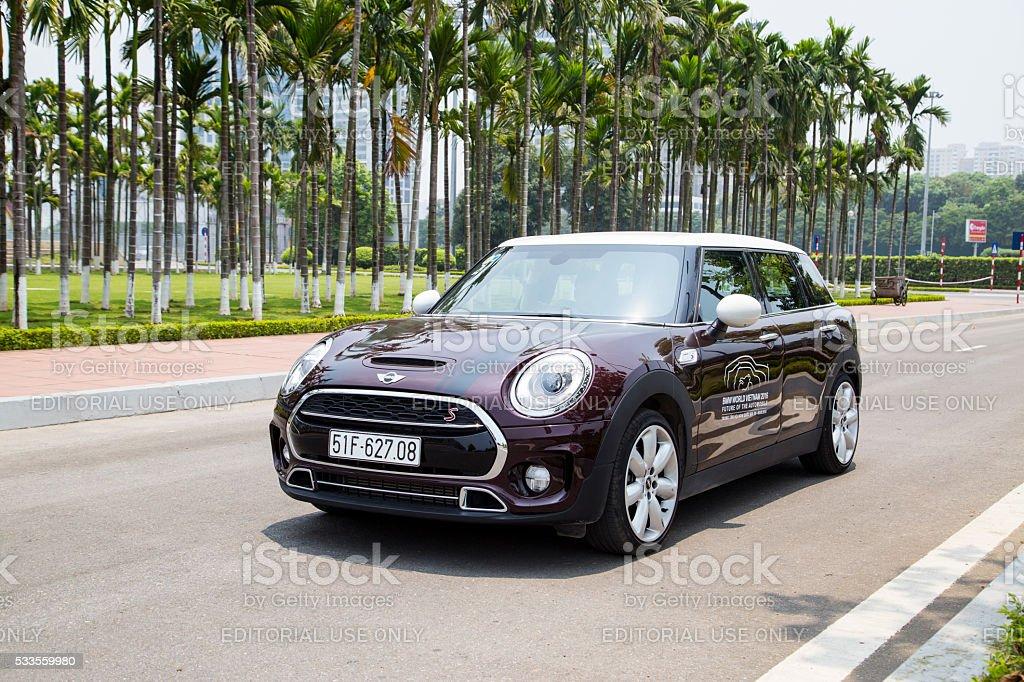 MINI Cooper Clubman S car stock photo