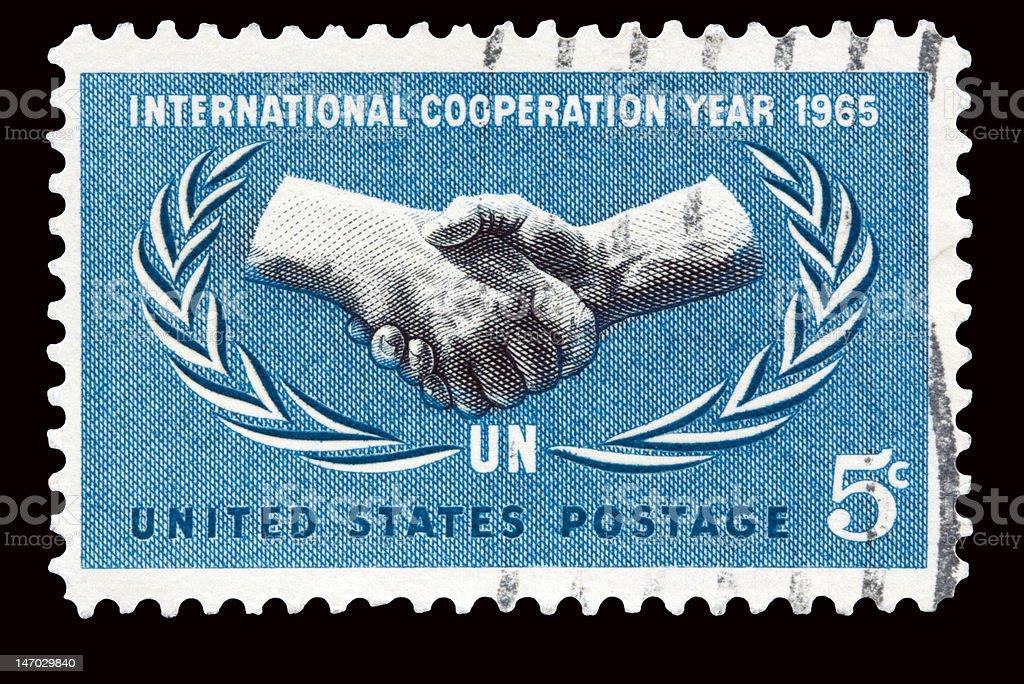Cooperation 1965 stock photo