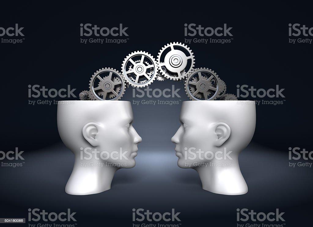 Cooperation. Concept stock photo