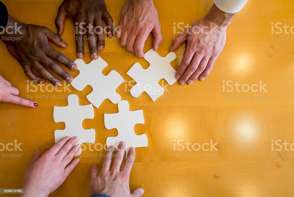 Cooperation stock photo