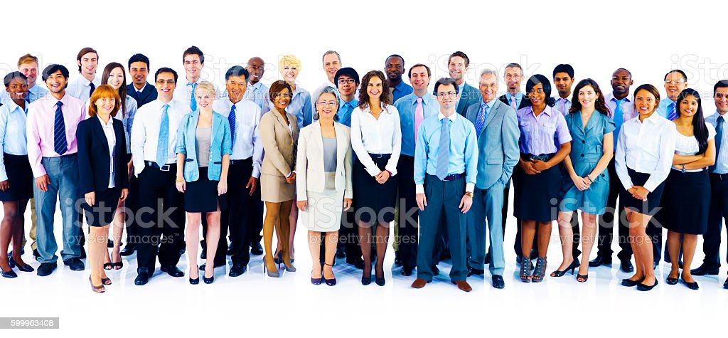 Cooperation Professional Partnership Teamwork Concept stock photo