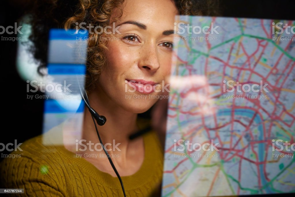 co-ordinating freight stock photo