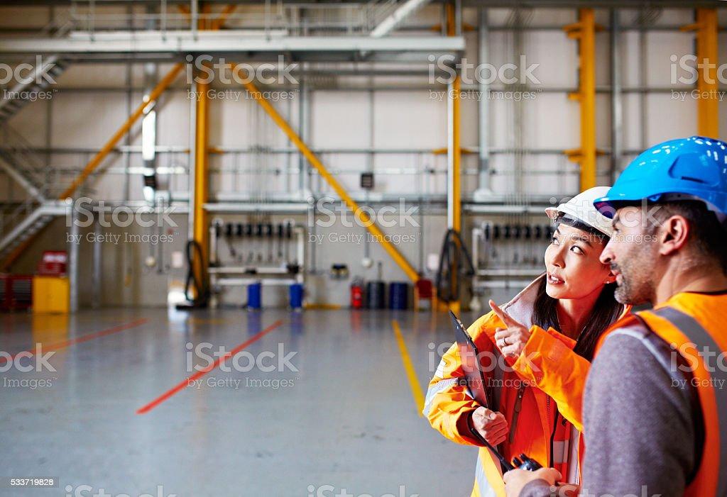 Coordinating shipping stock photo