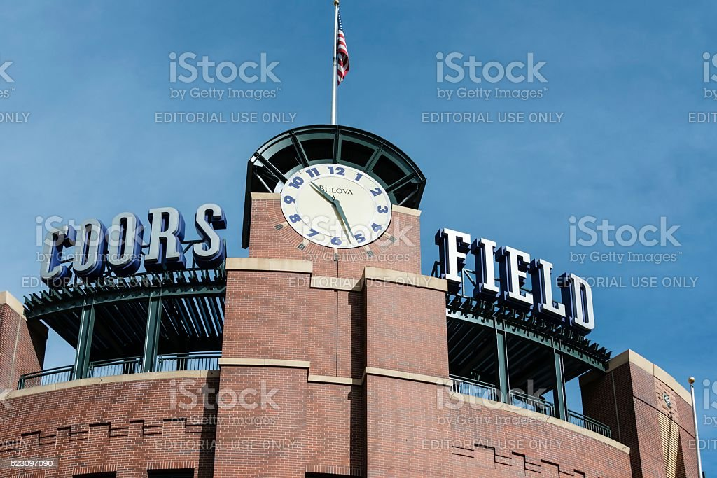 Coors Field, Colorado Rockies, Denver stock photo