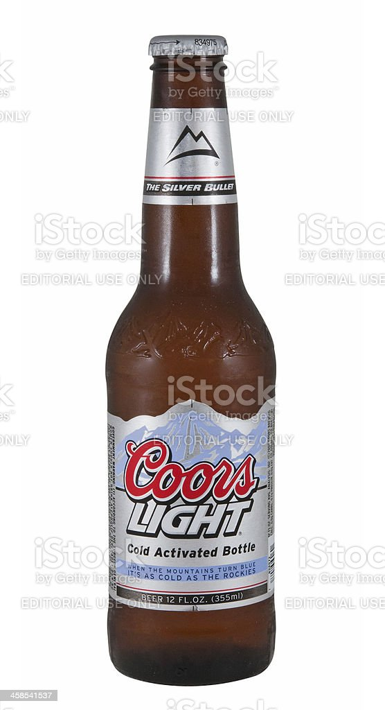 Coors Light royalty-free stock photo