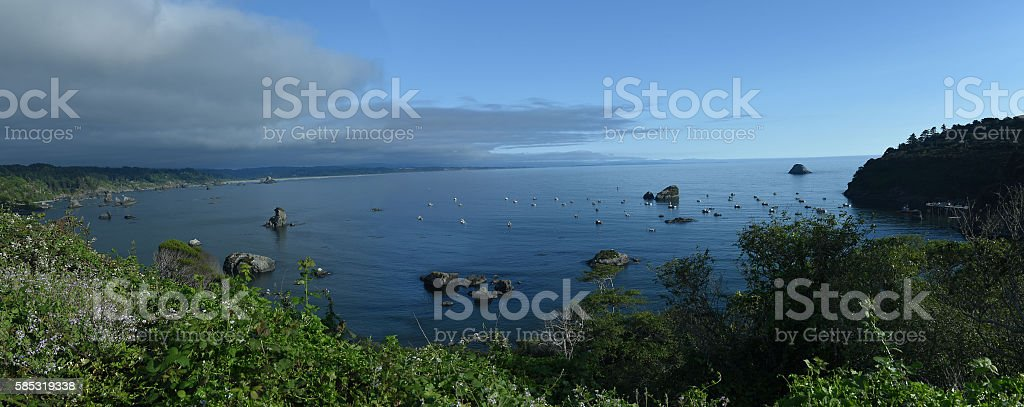 Coos Bay stock photo