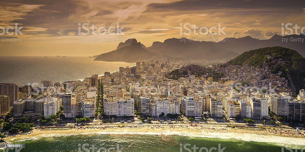 Copacabana Beach royalty-free stock photo