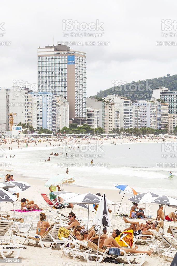 Copacabana Beach. royalty-free stock photo