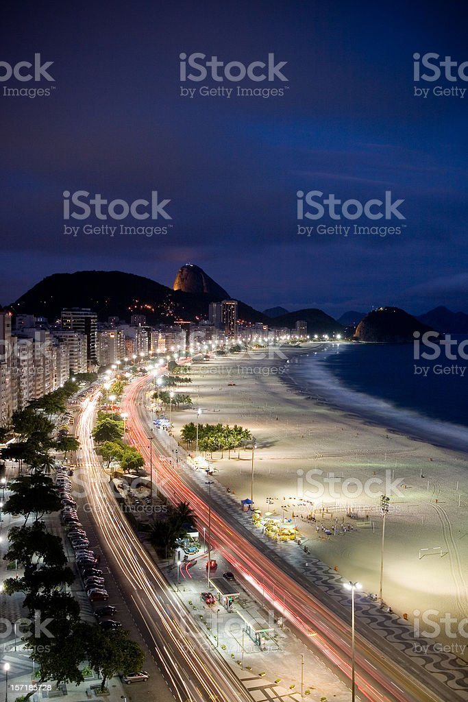 Copacabana Nights royalty-free stock photo