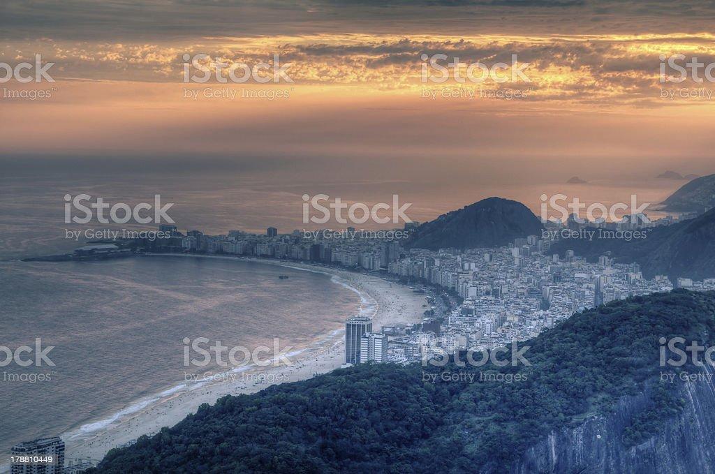 Copacabana royalty-free stock photo